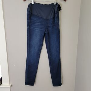 JCrew Maternity Over-the-belly Toothpick Jean 29